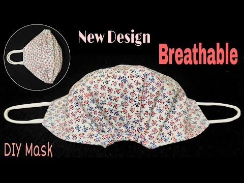 Photo of New Design – Breathable DIY Mask | The Mask does not touch your mouth and nose, easier to breathe
