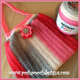 I love big fat bags to take my projects along with me.     I have just re-tested and updated this fun bag pattern.   I released the pattern...