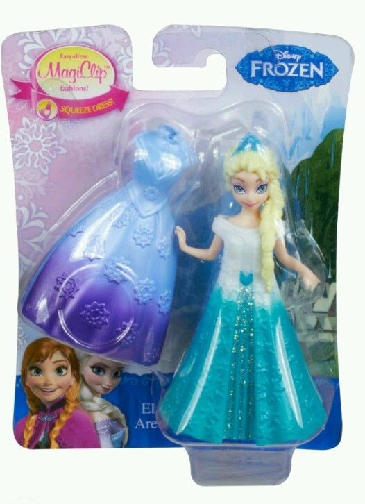 99 Cent Auctions Easter Gift Basket Treats MAGICLIP ELSA Disney Princess Little Kingdom Doll 2 Dress Set Anna Sister Frozen