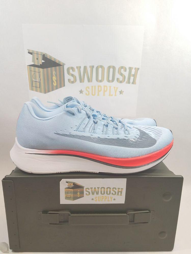 2b849e8f71f2b Nike Zoom Fly Ice Blue Running Sneakers Sneaker 880848-401 Mens Size 7  Nike   RunningCrossTraining