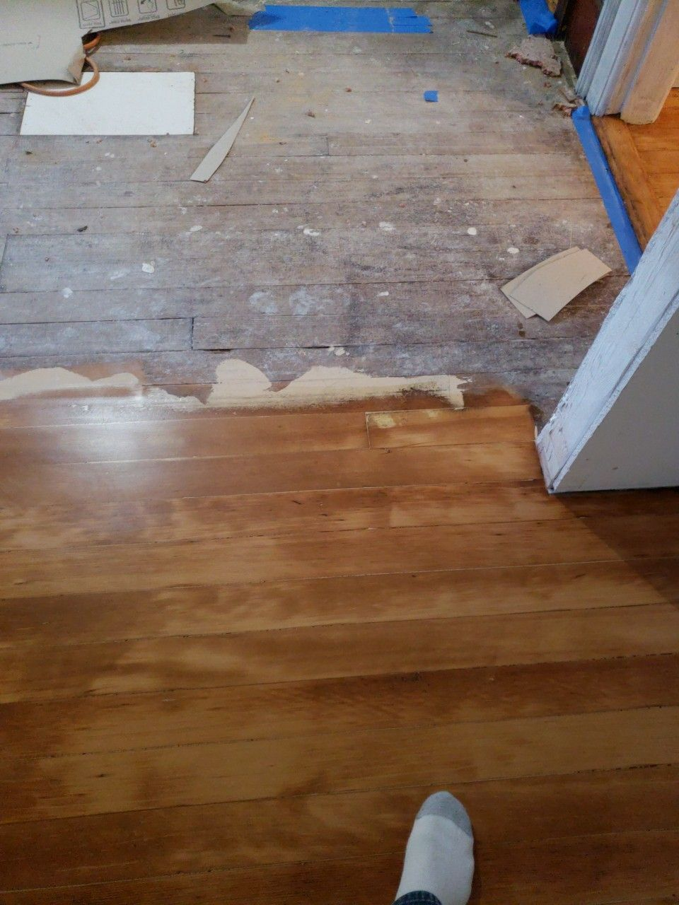 Old Fir Before And After Old Farm Houses Refinishing Floors Flooring