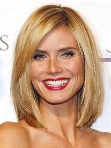 Long Bob Hairstyles Heidi Klum Hair Hair Hair Pinterest