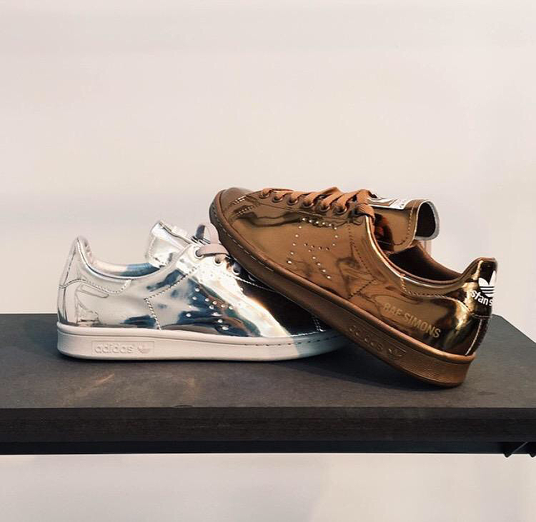 raf simons stan smith liquid metal pack  3644e33cdeaa