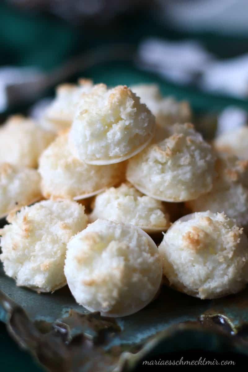 Photo of Saftige Kokosmakronen — Maria, es schmeckt mir!