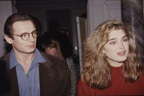 Liam Neeson dated Brooke Shields 1991 - 1992