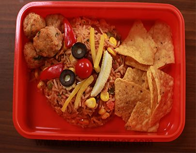 Mexican meal box for kiks lunchbox pinterest sanjeev kapoor mexican meal box forumfinder Image collections