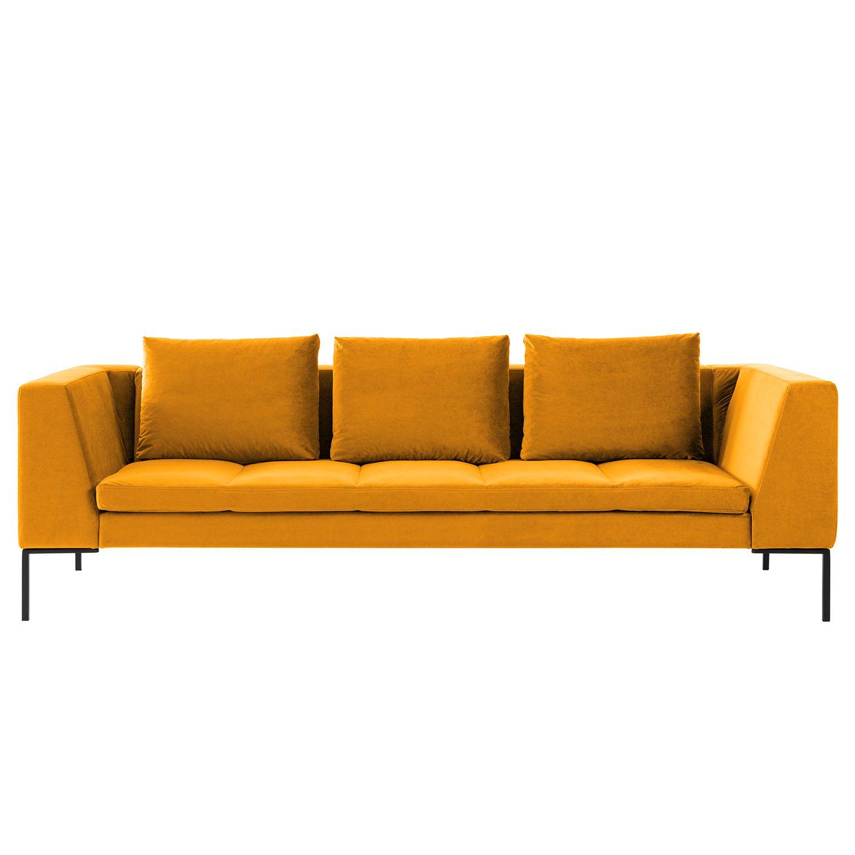 Sofa Madison 3 Sitzer Samt Sofas Couch Mit Schlaffunktion Sofa Stoff