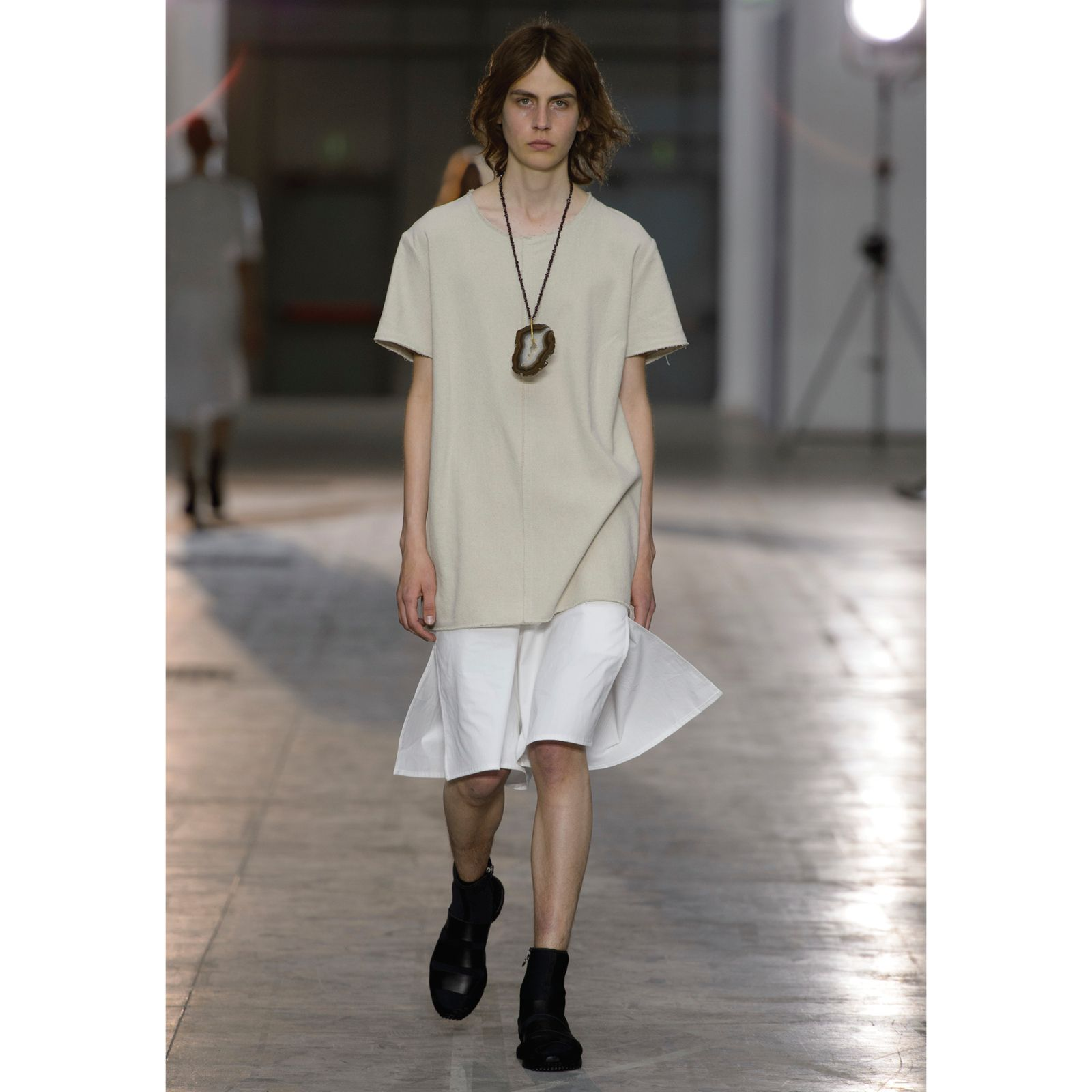 Damir Doma Men's SS16 Collection Available Online: Look 4 - Tala Short Sleeve Top, Passer Short With Side Slits And Flash Runner Shoes. Visit Our Online Store: shop.damirdoma.com  https://www.instagram.com/p/BC-2ZajJ-y1/?taken-by=damirdomaofficial