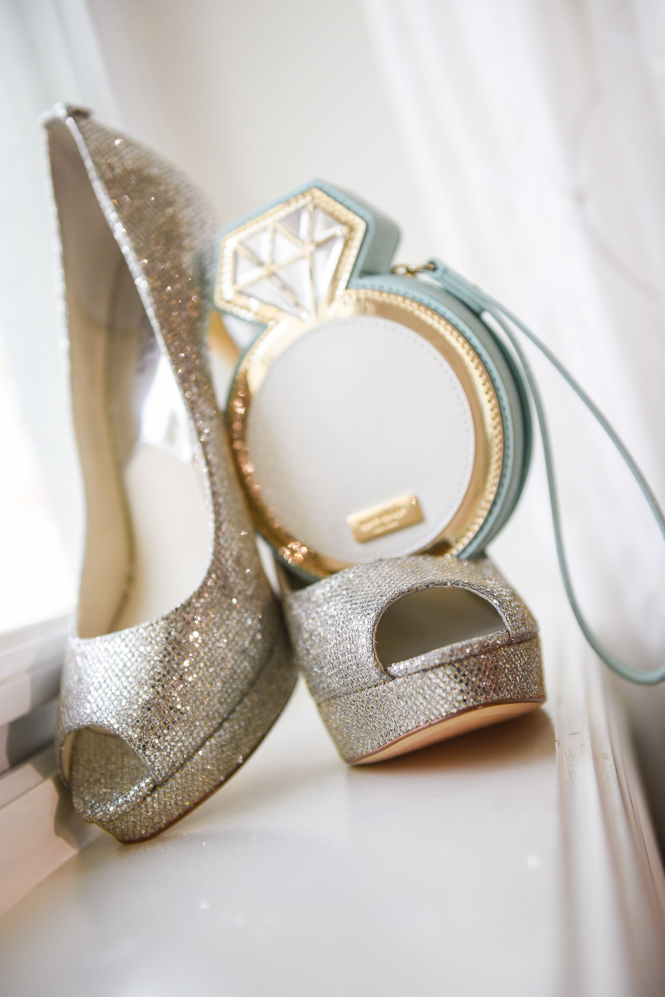 You can\'t go wrong with a bit of sparkle on your wedding day ...