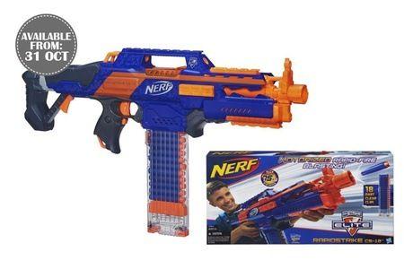 NERF N-Strike Elite RapidStrike CS-18 Blaster at $53.90 (Worth $99.90)