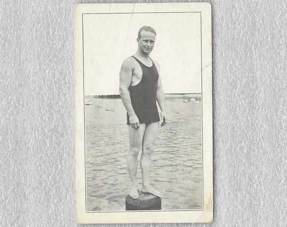 Vintage Catalina California Postcard, Harold Whitie