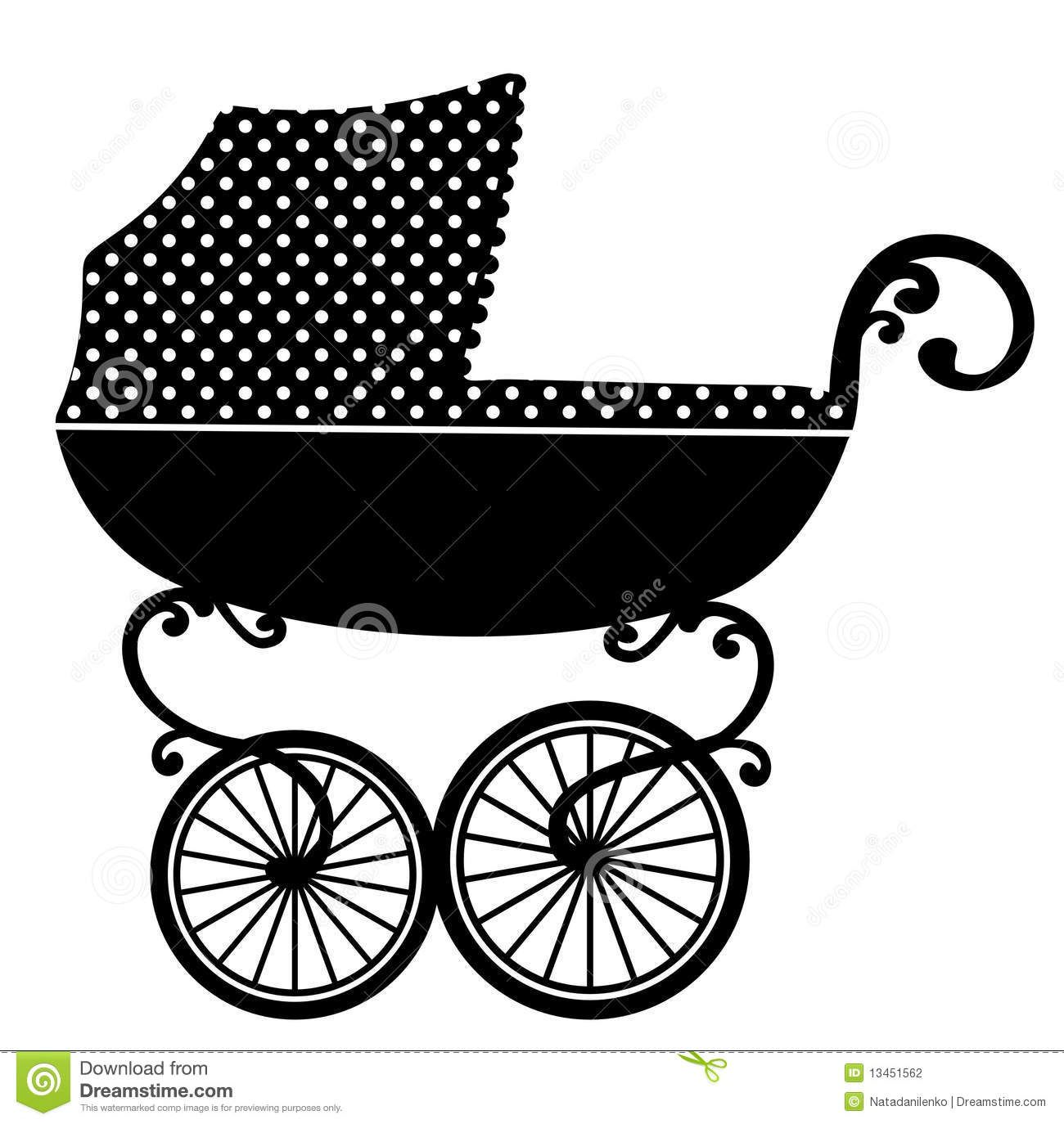old fashioned black stroller cartoon Google Search