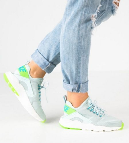 9caafb14d543 Nike Sportswear AIR HUARACHE RUN ULTRA Tenisówki i Trampki fiberglass electric  green gamma blue