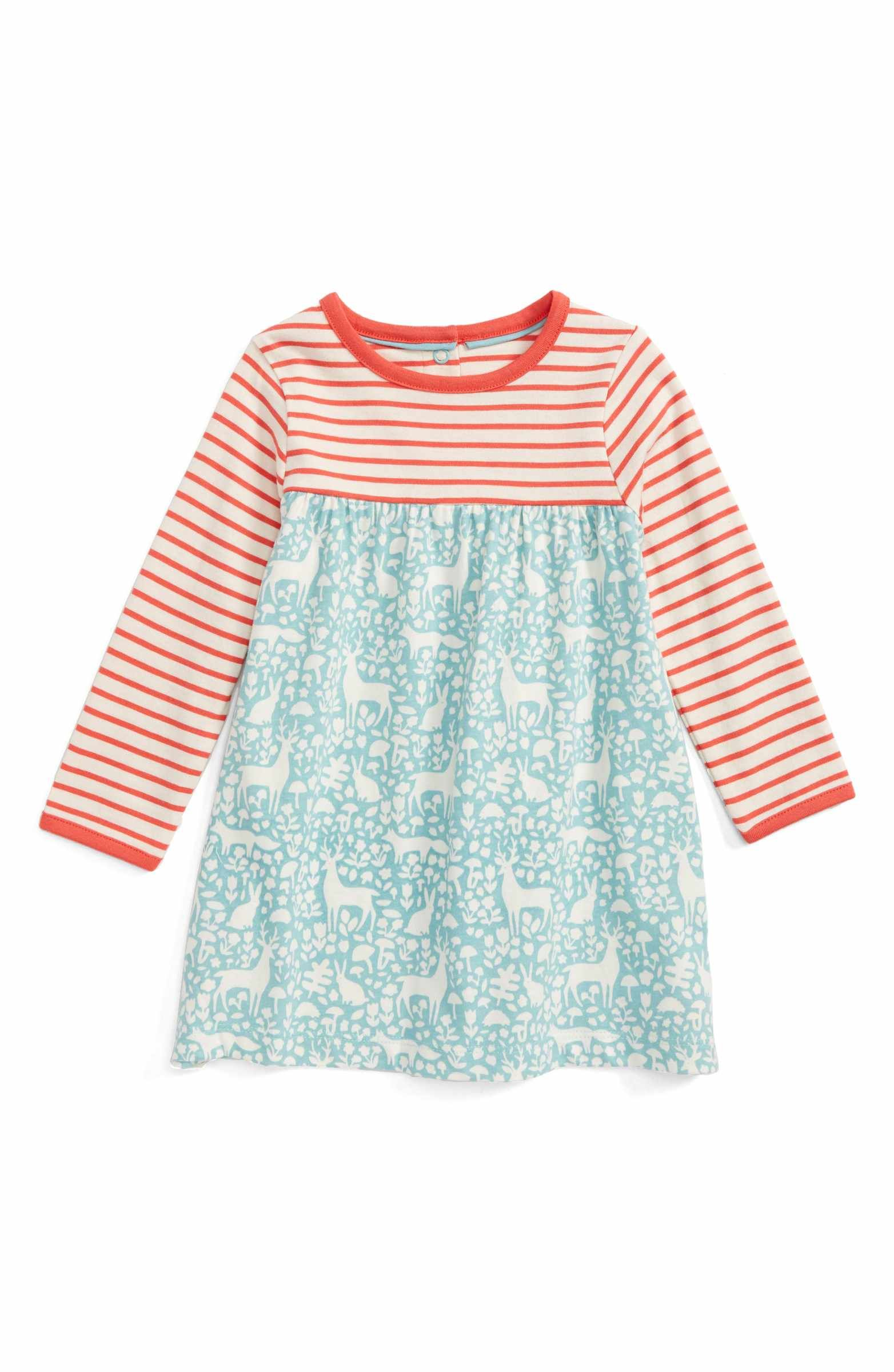 Main Image Mini Boden Hotchpotch Jersey Dress Baby Girls