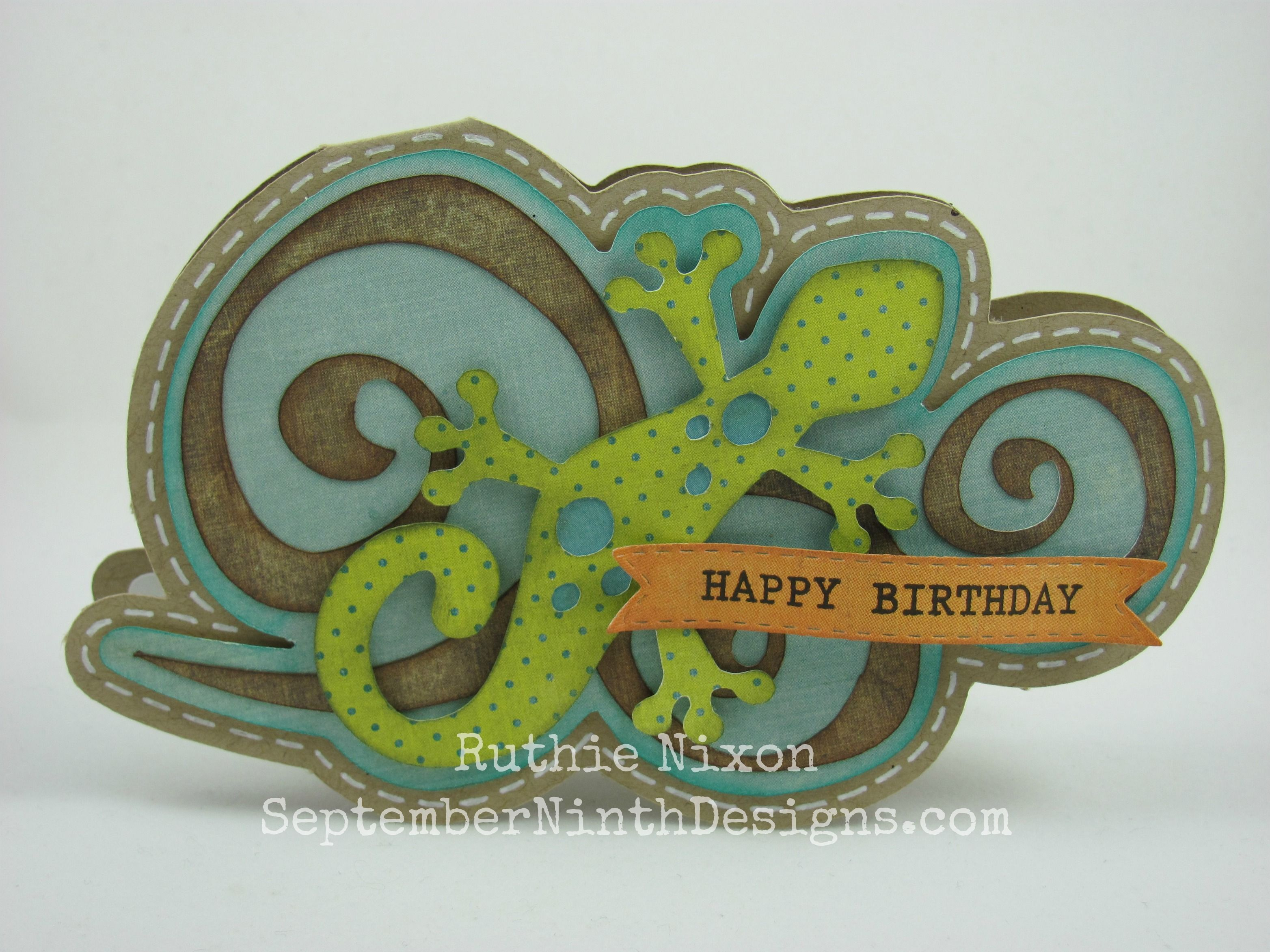 cool shaped card