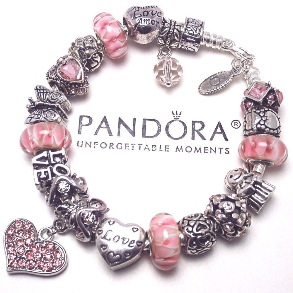 265110b67bf Pandora Jewelry 60% OFF!    Visit   Authentic Pandora Silver Charm ...