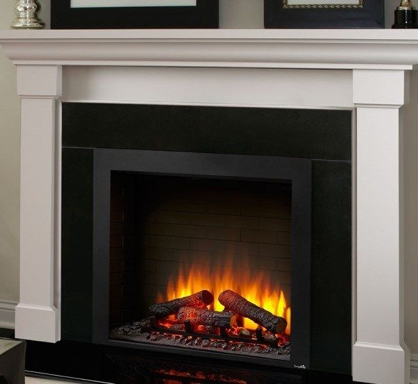 Majestic Simplifire Sf Bi36 Eb 36 Inch Built In Electric Fireplace Built In Electric Fireplace Electric Fireplace Fireplace Inserts