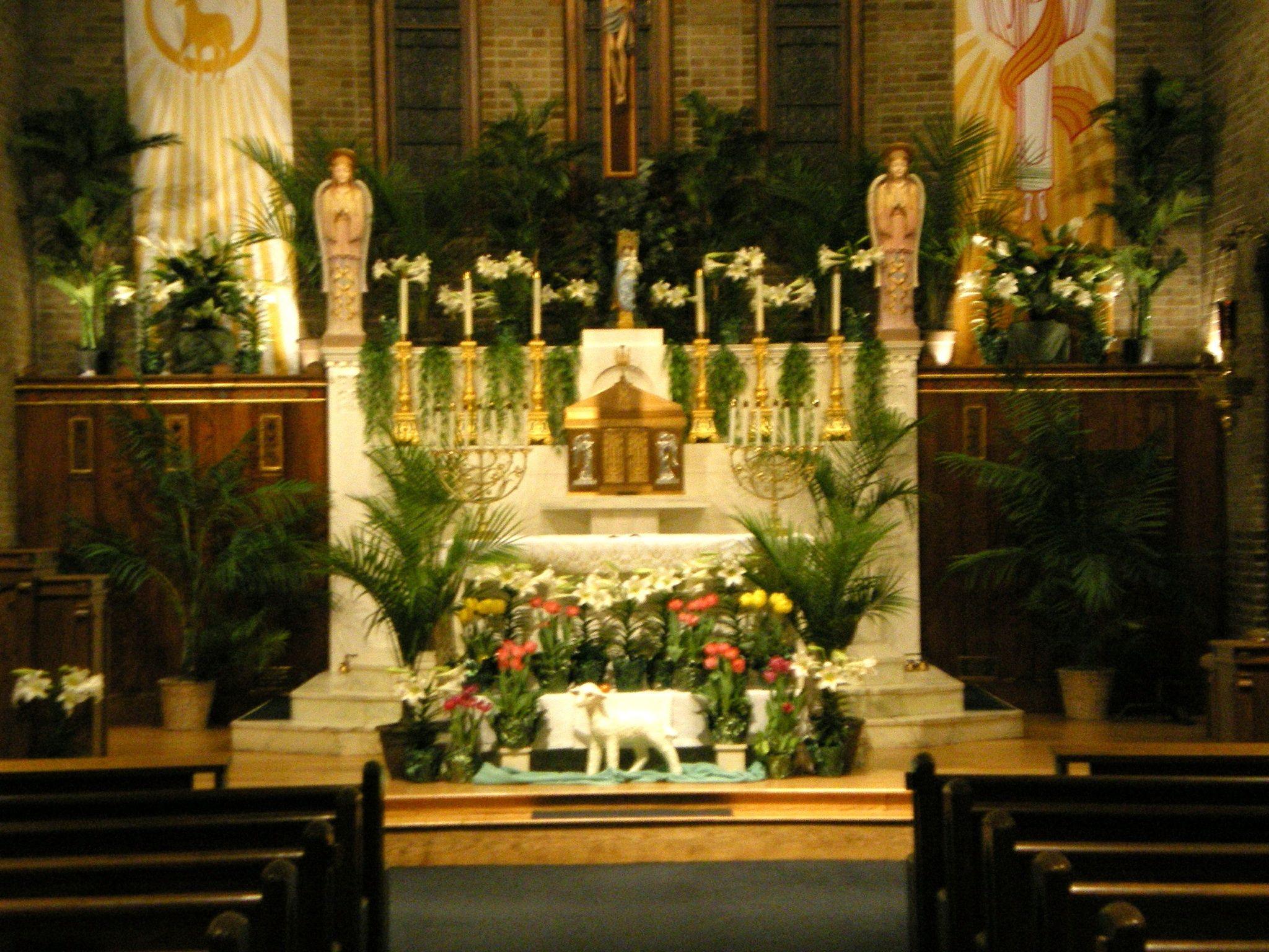 Easter Beautiful Decoration Ideas DIY fo Church