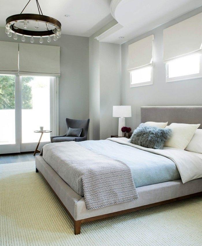 modernes schlafzimmer helle farben kombinieren teppichboden - teppichboden für schlafzimmer