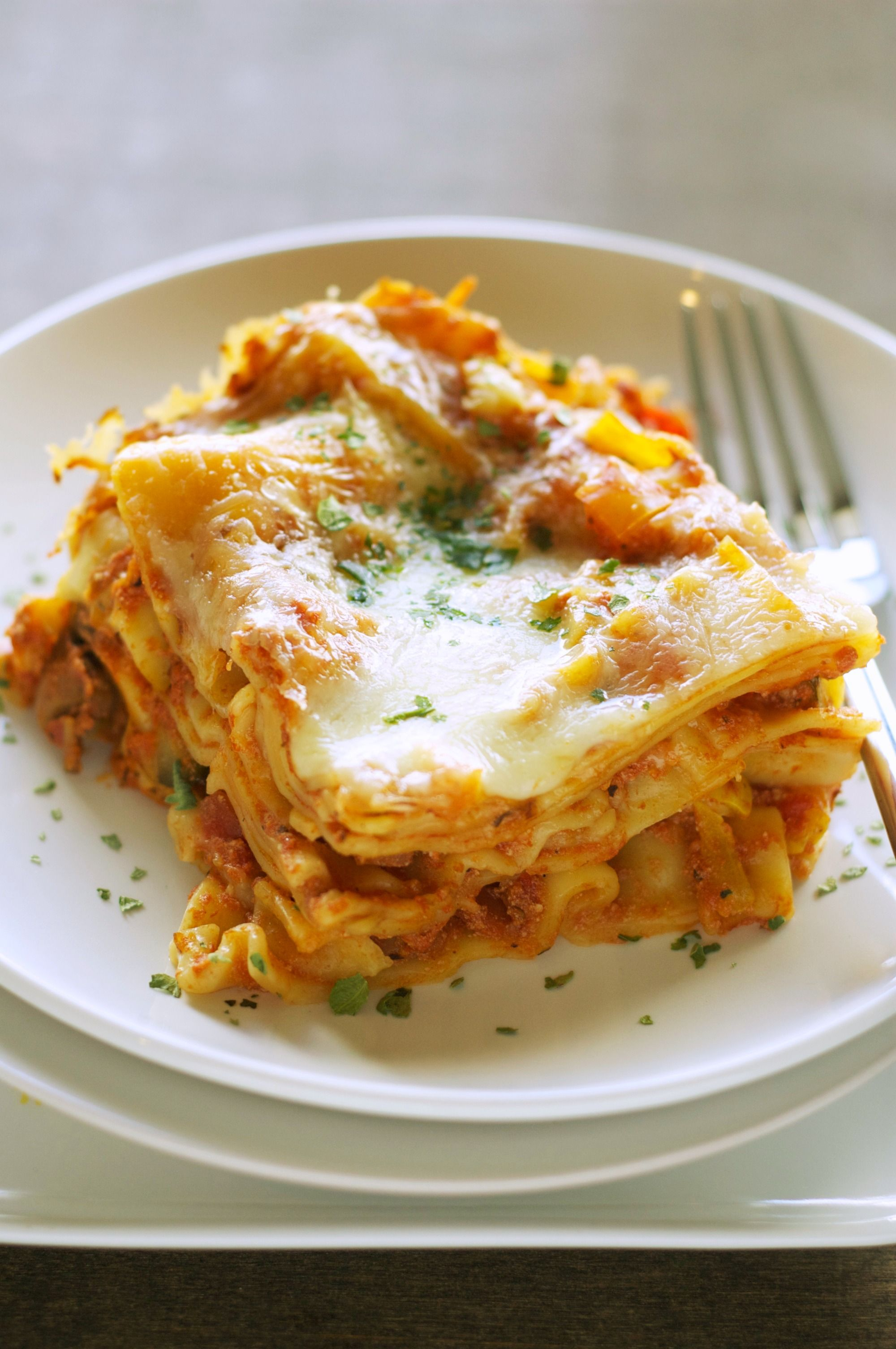 Freezer Meal:  Crockpot Veggie Lasagna. 5-6 hours low or 3 on high. Pre-freeze homemade veg/sauce mix and then just have to assemble day of!