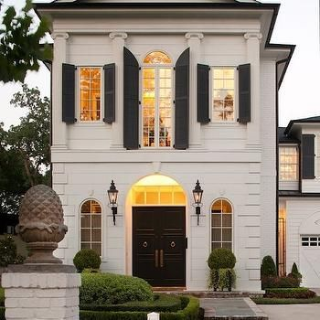 Modern french home exterior french home exterior - Shutters for decoration interior ...