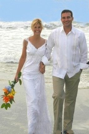 Vestimenta formal en playa