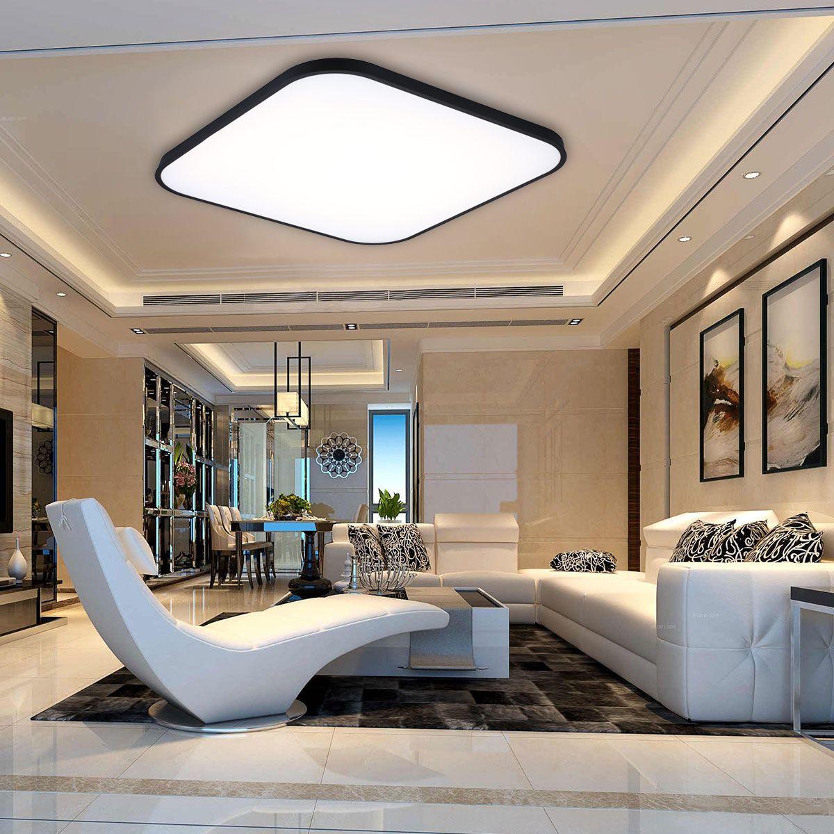 Modern Ceiling Mounted Light Ile Ilgili Gorsel Sonucu Ceiling Design Bedroom Ceiling Design Living Room Living Room Lighting