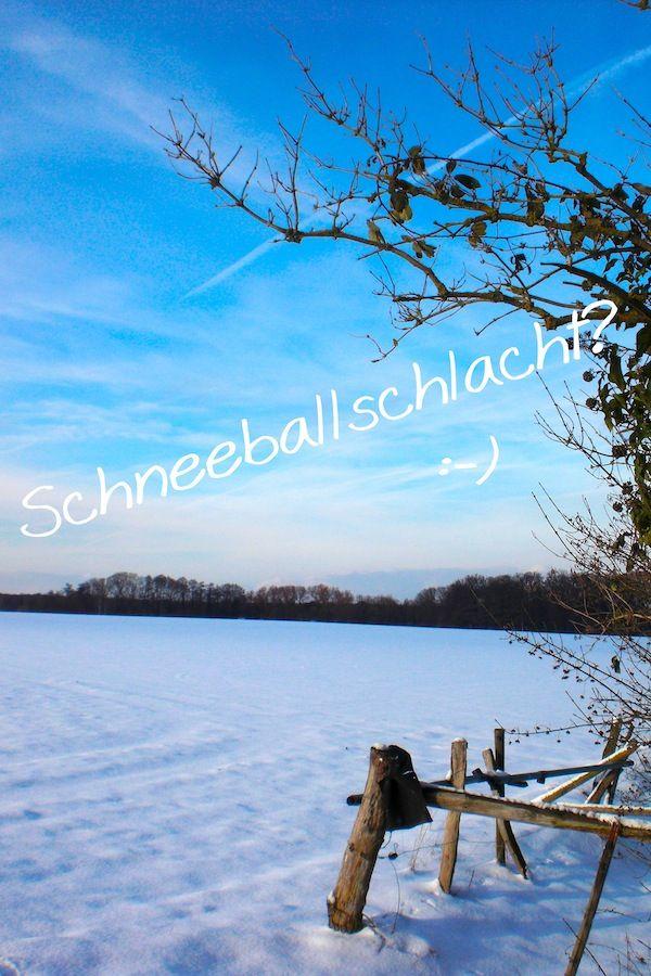 Schneeballschlacht? :-)