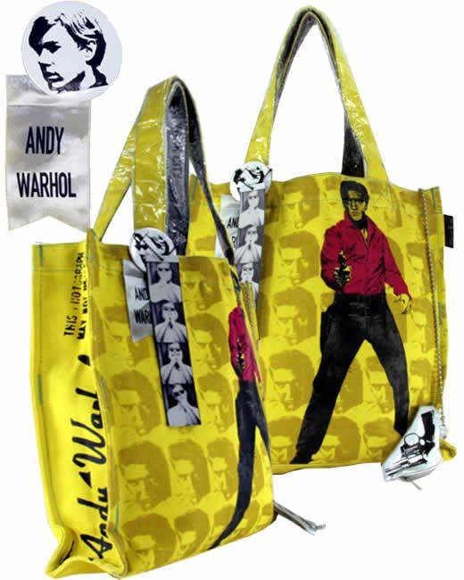 Elvis Presley Andy Warhol Bag With