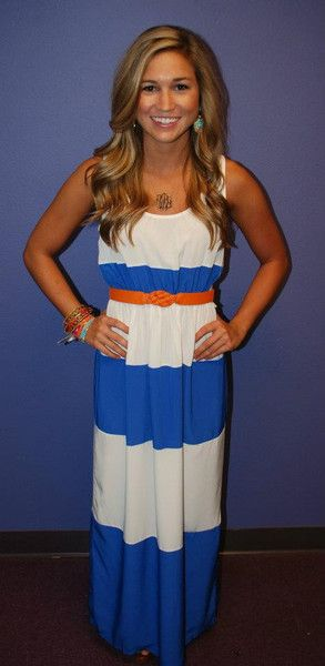 I love a good maxi! I'd pair it with a jean jacket and be comfy all day! #CLb2s