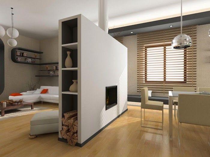 1001 id es deco cloison separateur de piece et meuble de separation for Separateur de chambre
