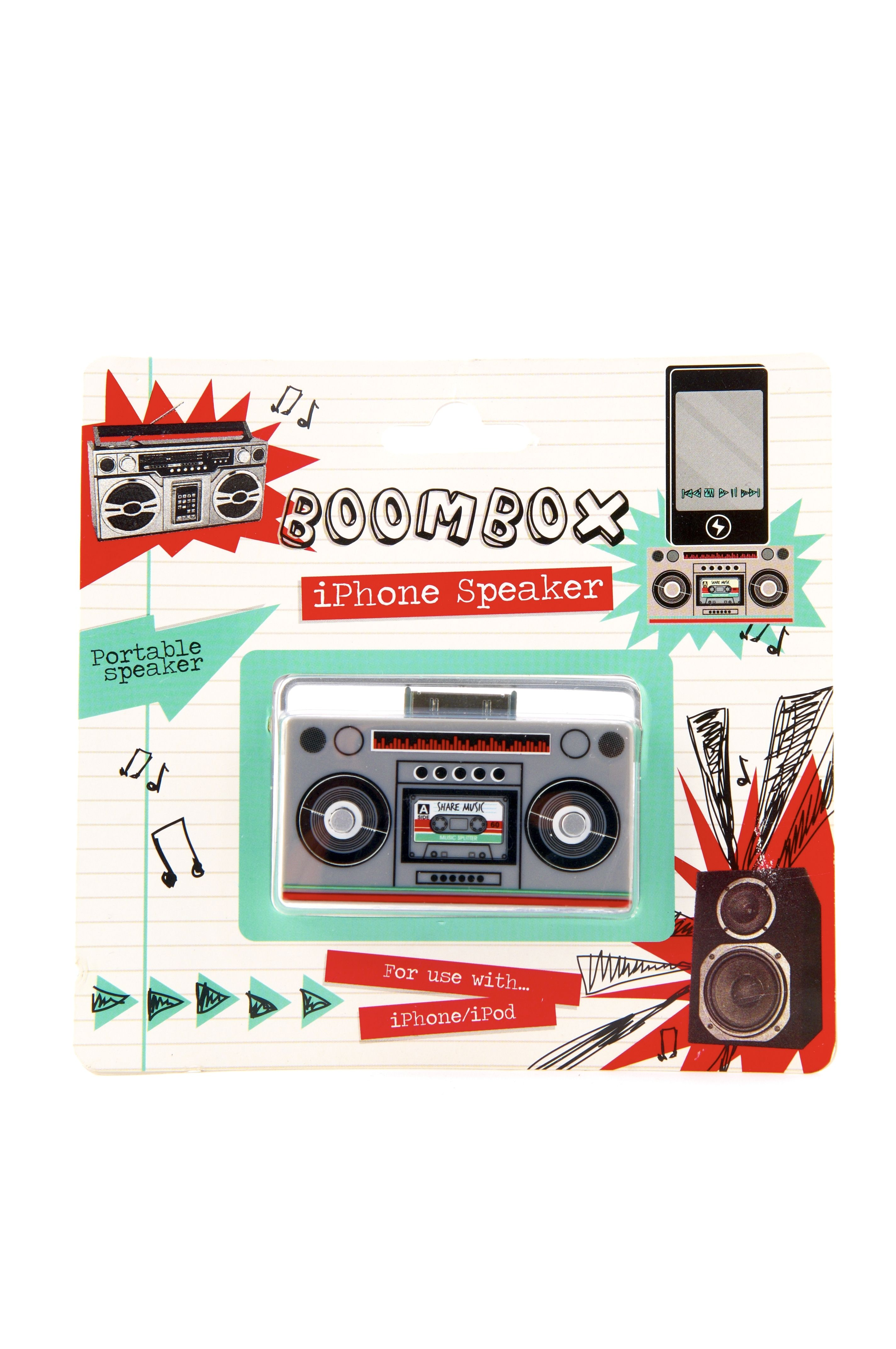 Music Boombox iPhone Speaker