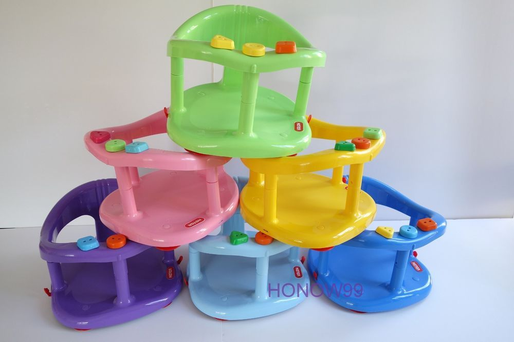 New keter original baby bath ring seat tub anti slip kids help ...
