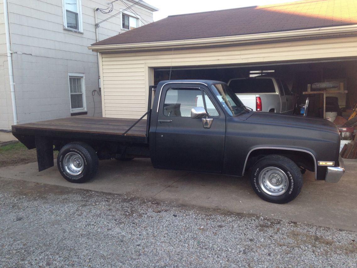 All Chevy 86 chevy c10 parts : 86 Chevy 1/2 ton | Flatbed | Pinterest | Shop truck, Chevy pickups ...