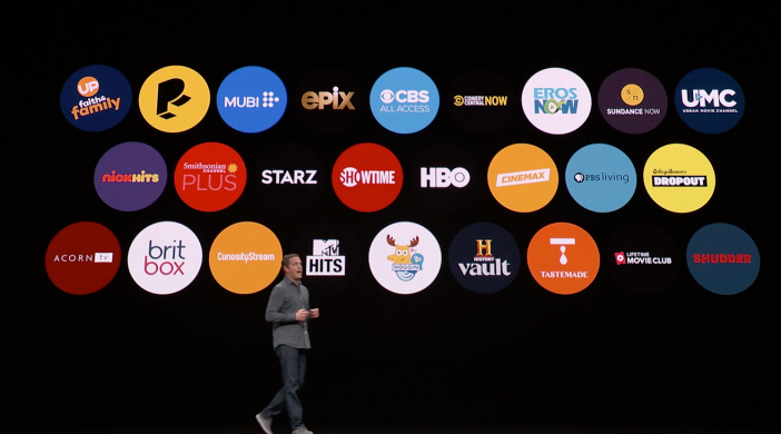 Apple Announces Apple TV Channels with HBO Showtime Starz