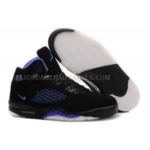 8ed246aa1b8 air jordan 5 v retro baskets noir violet blanc