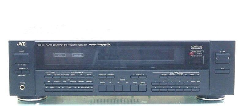 vintage jvc rx 501 computer controlled receiver amplifier remote rh pinterest com jvc rx 208 receiver manual jvc rx-309 receiver manual