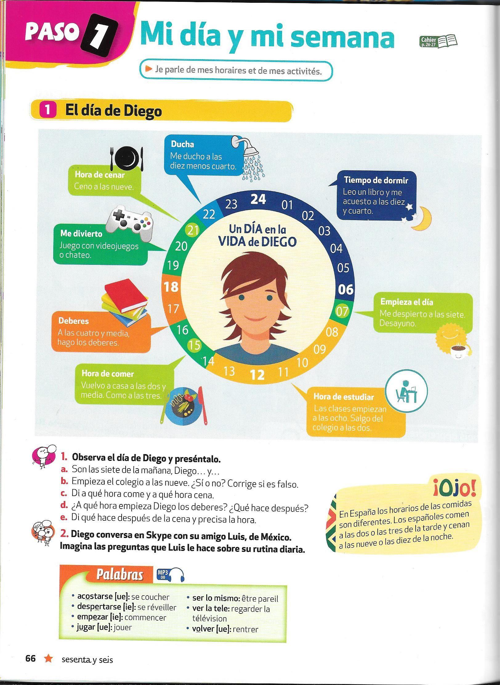 Comprehensin Worksheets High School Spanish 2