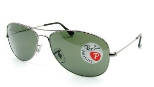 5440a15d5f Ray Ban Sunglasses RB3362 004 58 Gunmetal Crystal Green Polarized 59mm  Ray-Ban