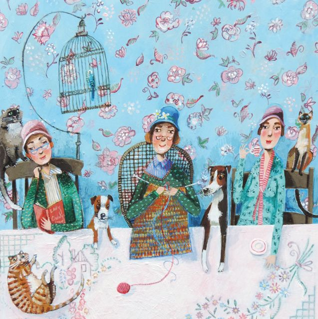 Favourite pastimes by painter stephanie lambourne blank art cards favourite pastimes by painter stephanie lambourne blank art cards by green pebble m4hsunfo