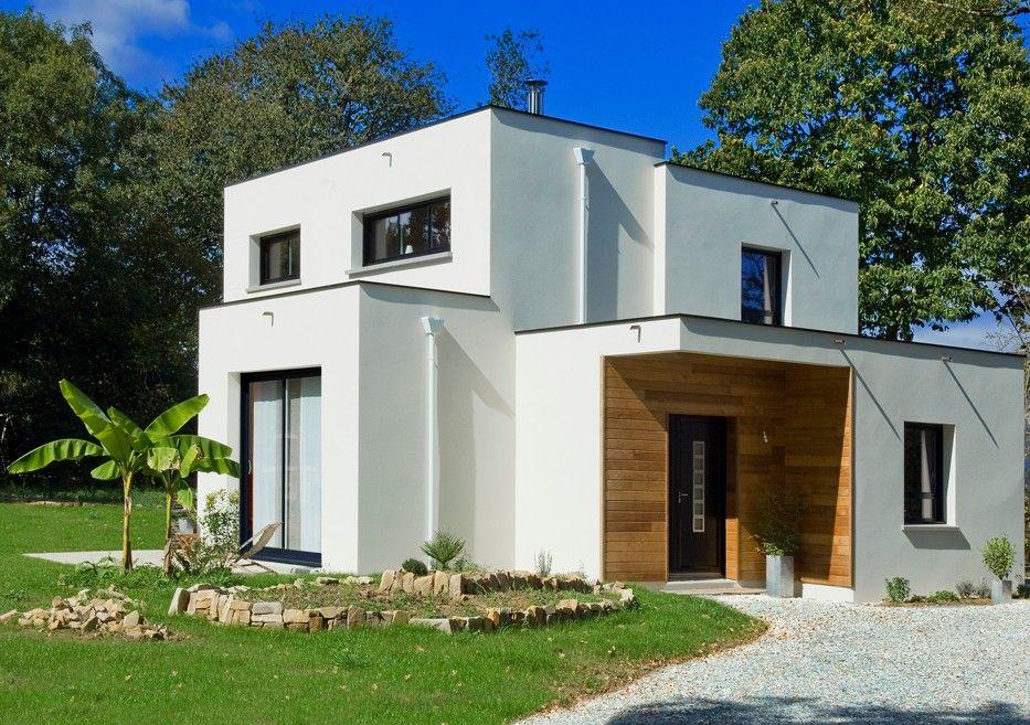 petite maison moderne habitat des id es pour la maison pinterest petites maisons. Black Bedroom Furniture Sets. Home Design Ideas