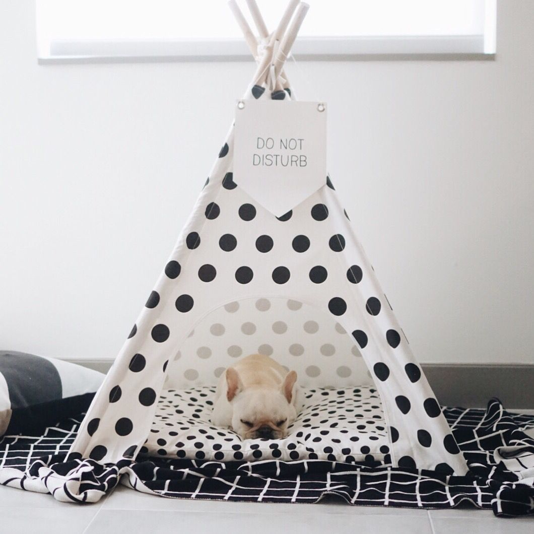 Do not disturb | #pipolli polka dots teepee