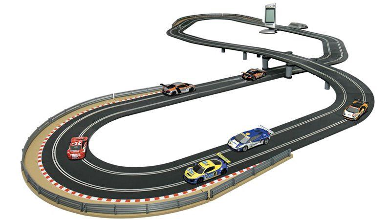 slotcarsandtracks impossible slot car track lets you race more