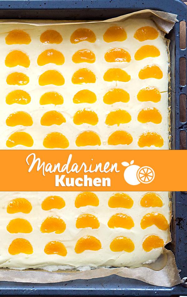 Mandarinen-Schmand-Kuchen vom Blech - Madame Cuisine #pumpkinmuffins