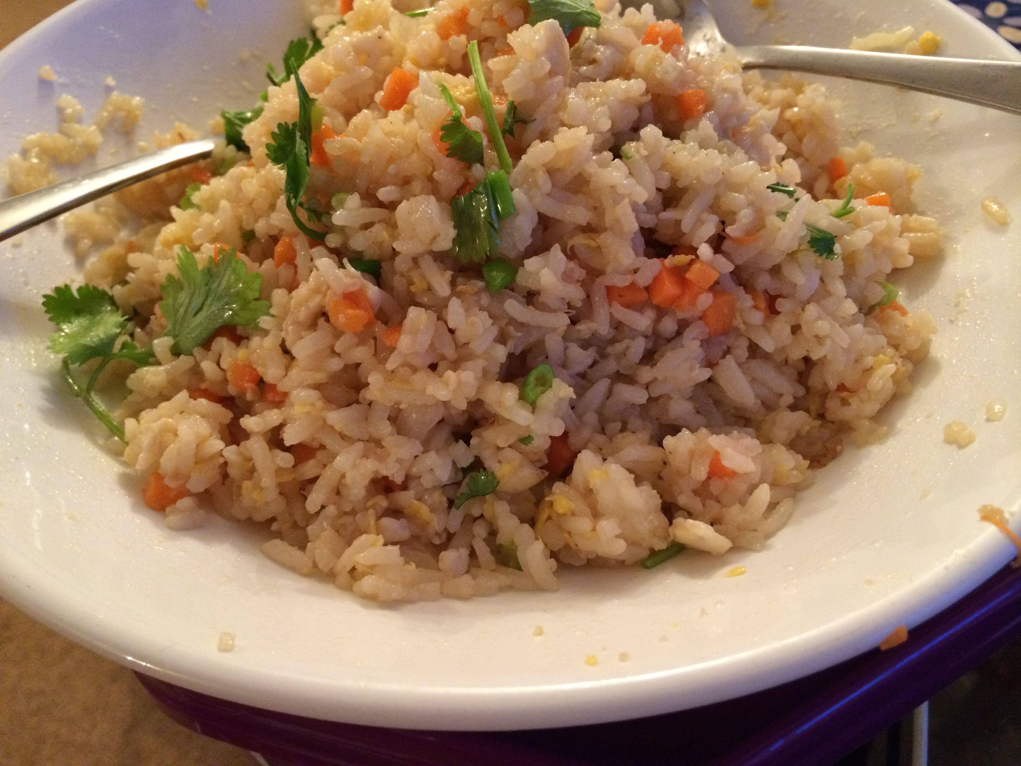 Eggs fried rice