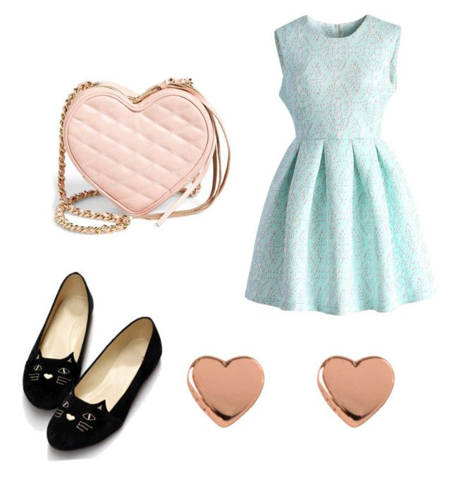 """""""Untitled #30"""" by ellie-masters01 on Polyvore featuring Rebecca Minkoff, Ted Baker and Chicwish"""