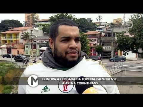 Mesa Redonda - Confira a chegada da Torcida Palmeirense à Arena Corinthians (19/04/15) - http://www.nopasc.org/mesa-redonda-confira-a-chegada-da-torcida-palmeirense-a-arena-corinthians-190415/