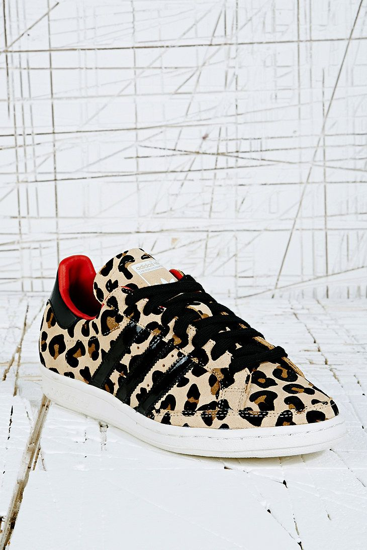 Adidas Originals Trainers in Leopard Print