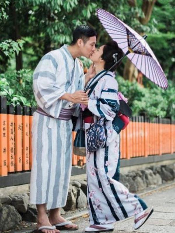 putri titian dan junior liem pamer foto ciuman di jalan http wp