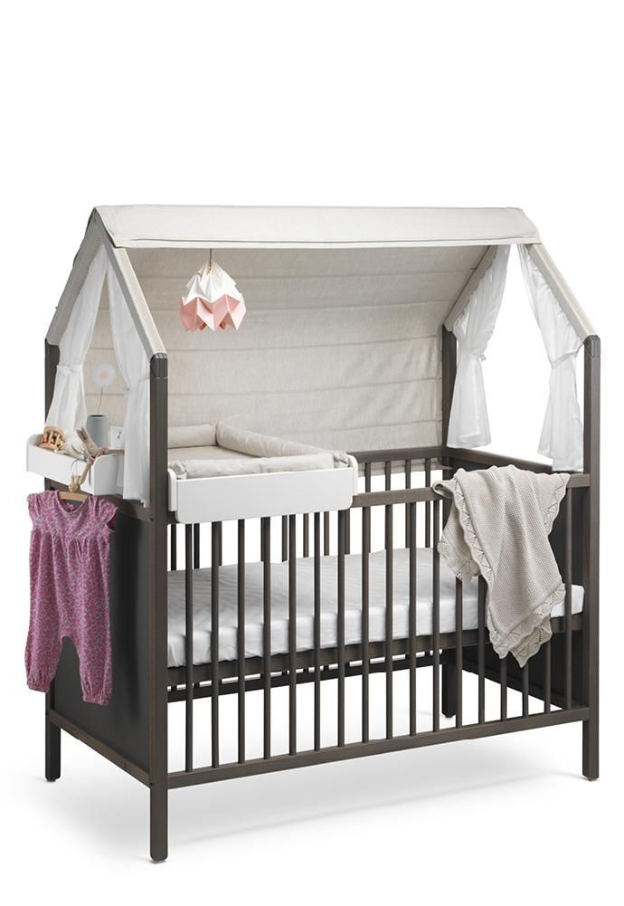 Stokke Home Crib | Nursery | Together with Cradle, Changer and ...